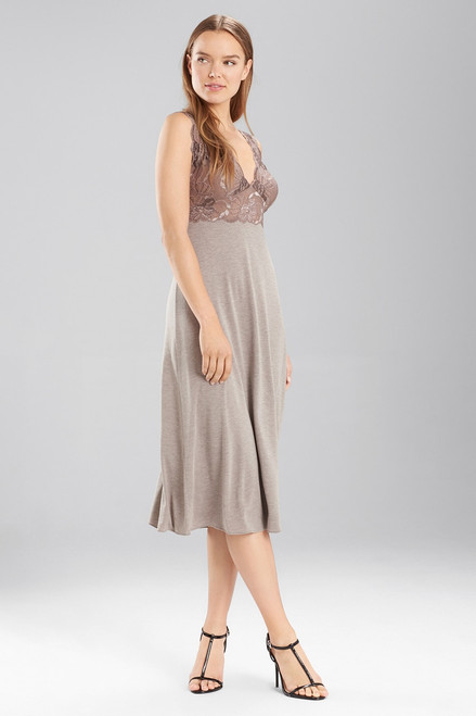 Buy Natori Zen Floral Gown with Lace from