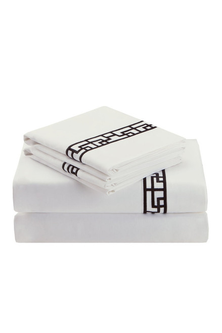 Buy Ming Fretwork White/Black Sheet from