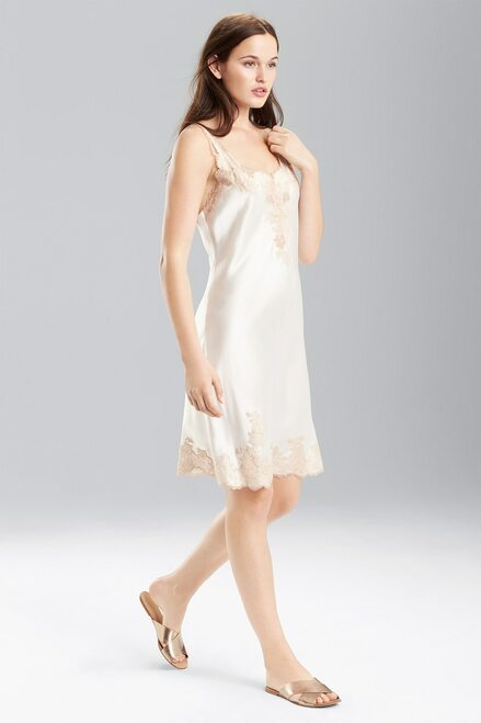 Buy Josie Natori Lolita Chemise with Top and Bottom Lace from