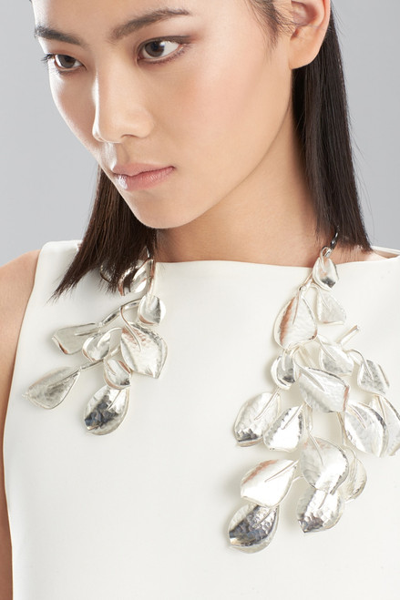 Buy Hammered Metal Necklace from