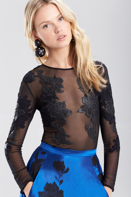Buy Josie Natori Mesh Bodysuit from