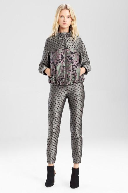 Buy Josie Natori Ornamental Jacquard Pants from