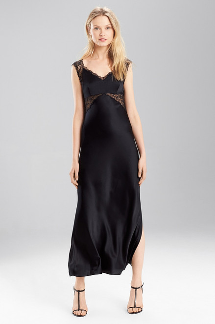 Buy Josie Natori Stretch Silk Charmeuse Gown from