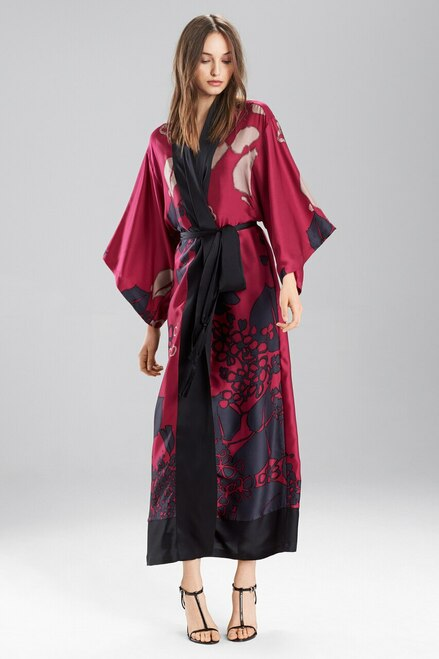 Buy Josie Natori Floral Veil Robe from