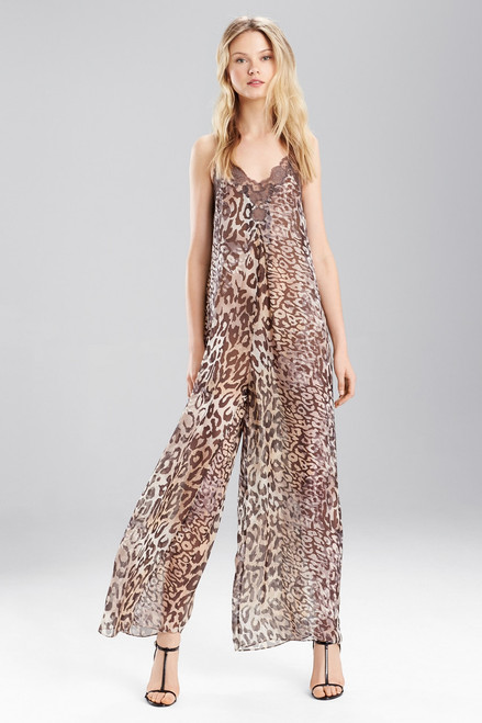 Buy Josie Natori Shadow Leopard Jumpsuit from