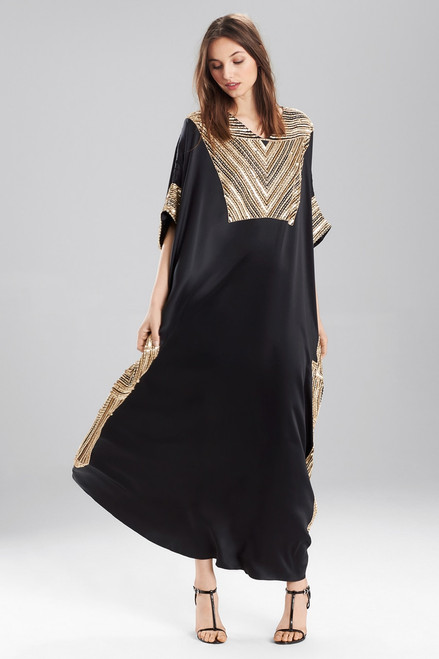 Buy Josie Natori Couture Stitching Caftan from