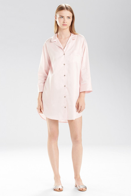 Buy Natori Cotton Sateen Essentials Sleepshirt Style B72028 from