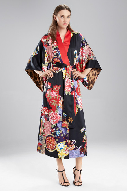 Buy Natori Mikado Reversible Robe from