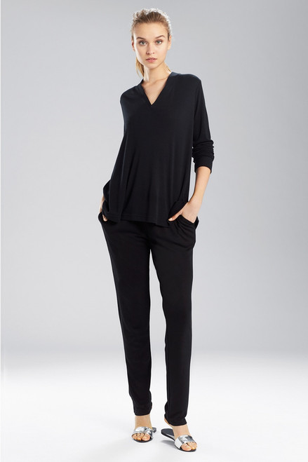 Buy N Natori Speckled Interlock Long Sleeve Top from