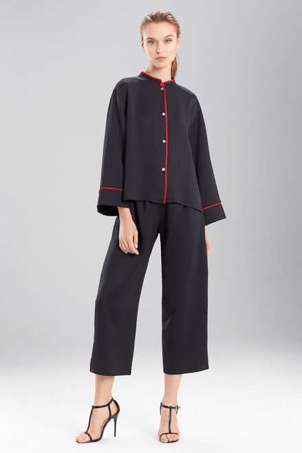 Buy N Natori Solid Hammered Satin PJ from