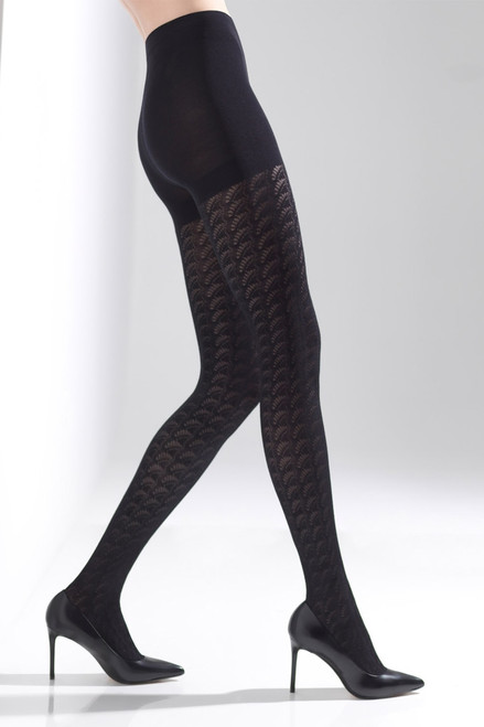 Buy Natori Deco Fan Tights from