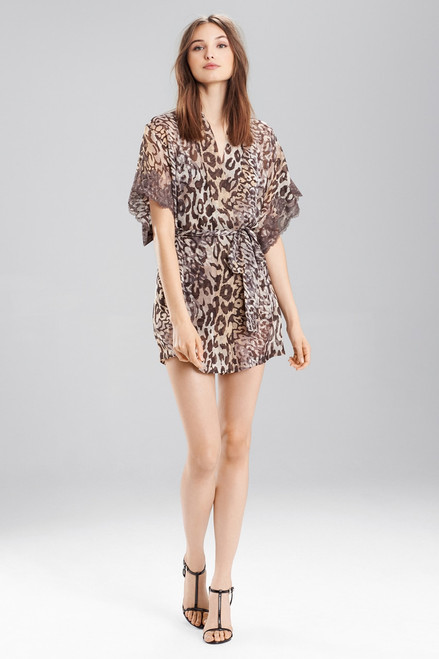 Buy Josie Natori Shadow Leopard Wrap from