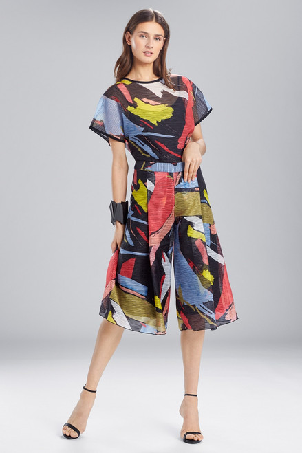 Buy Josie Natori Printed Gauze Culottes from