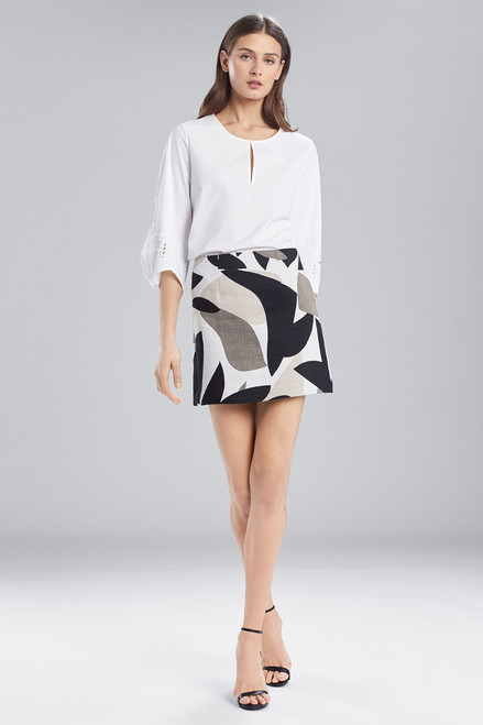 Buy Josie Natori Abstract Printed Jacquard Mini Skirt from