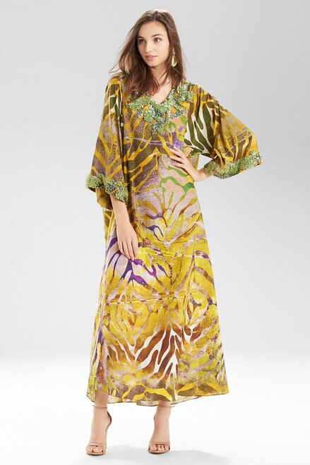 Buy Josie Natori Ocean Coral Caftan from