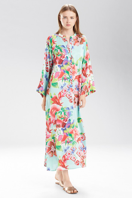 Buy Natori Start Blossom Zip Caftan from