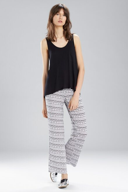 Buy Josie Mesmerized Tank Pant PJ White/Black from