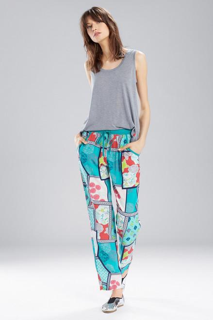 Buy Josie Blissful Blooms Kangaroo Pants Turqoise/Ivory from