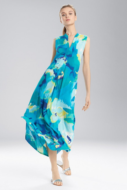 Buy N Natori Blooming Mural Maxi Gown from