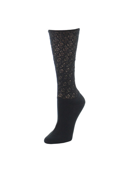 Buy Natori Mesh Textured Crew Socks from