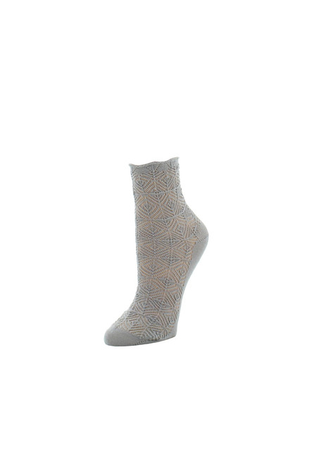 Buy Natori Circular Knit Crew Socks from