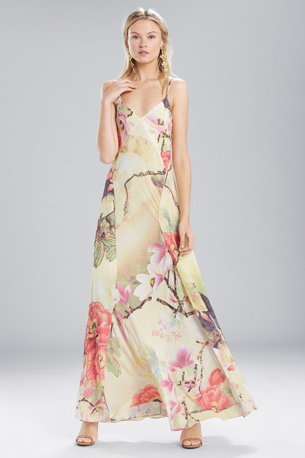 Buy Josie Natori Printed Silky Soft Slip Dress from