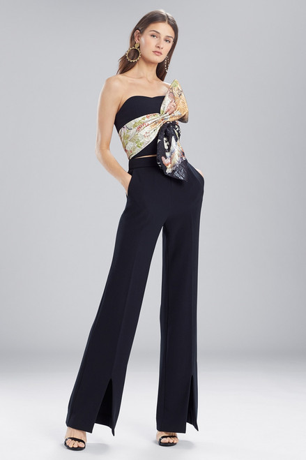 Buy Josie Natori Scenery Metallic Jacquard Bustier Top from