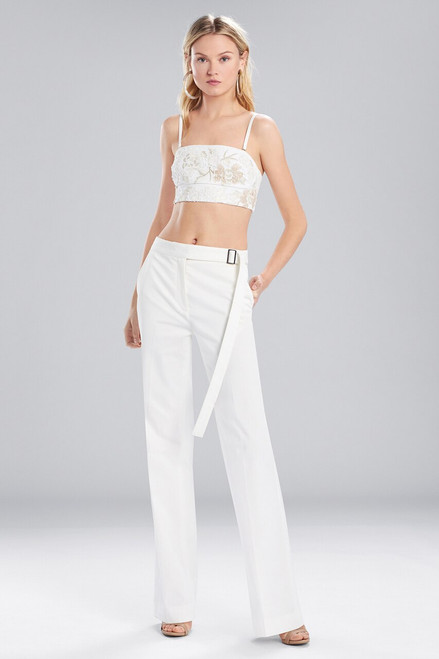 Buy Josie Natori Bottom Weight Cotton High Waisted Pants from