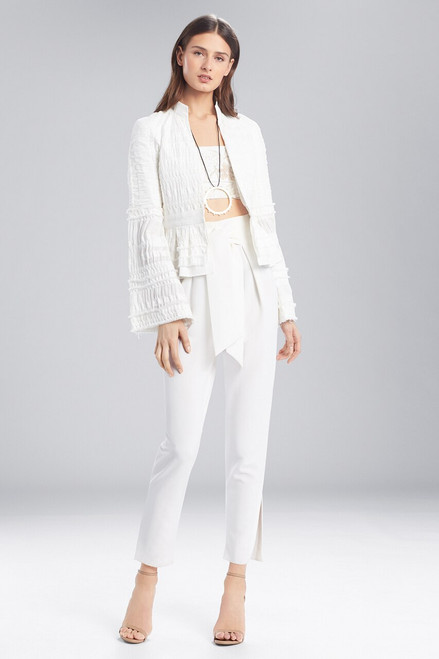 Buy Josie Natori Summer Texture Peplum Jacket from