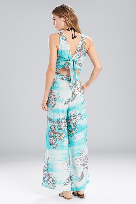 Natori Jeepney and Map Jumpsuit at The Natori Company