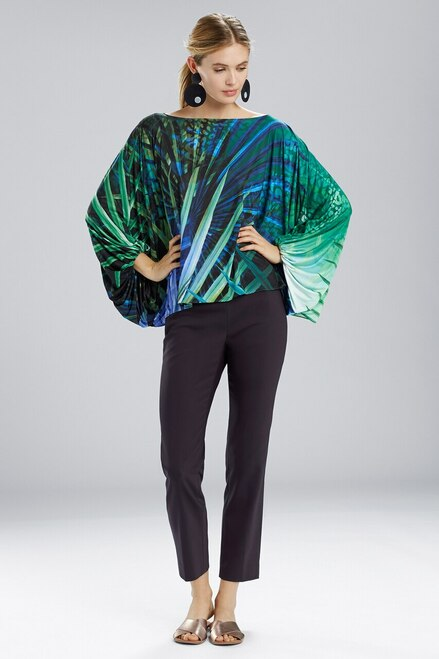 Buy Natori Palm Poet Sleeve Top from