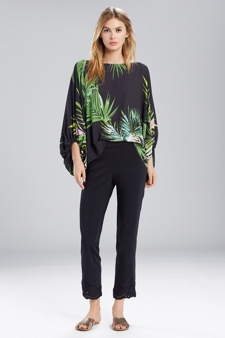 Buy Natori Orchid Poet Sleeve Top from