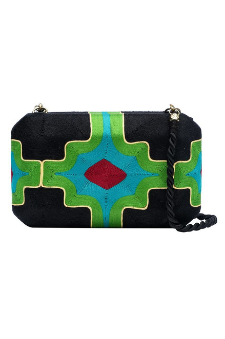 Buy Natori Beatriz Clutch Green from