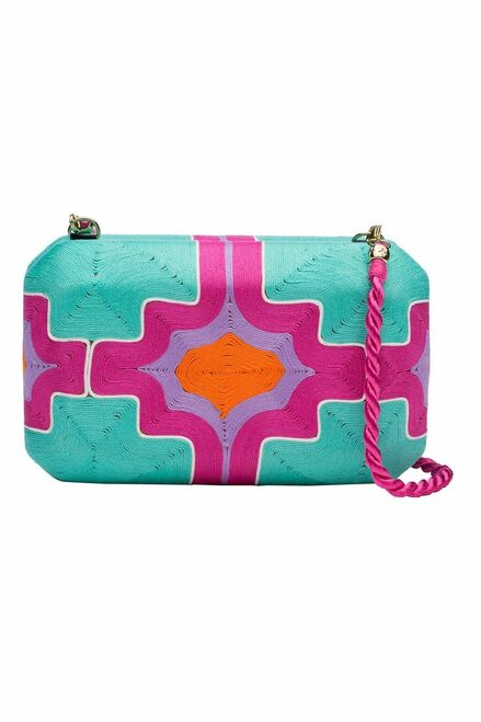 Buy Natori Beatriz Clutch Hot Pink from