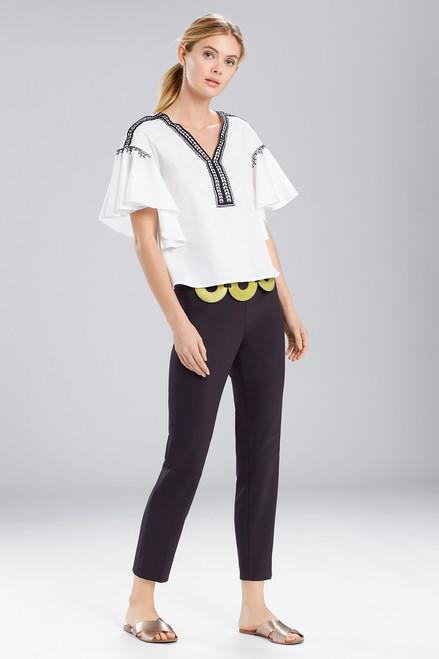 Buy Natori Breeze Ruffle Sleeve Top from