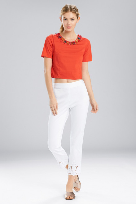 Buy Natori Breeze T-Shirt Top With Beading from