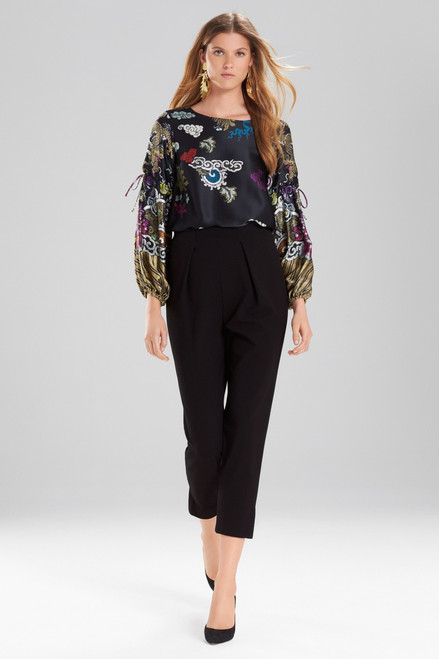 Buy Josie Natori Knit Crepe Tapered Pants from