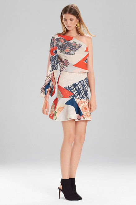 Buy Josie Natori Kimono Patchwork Skirt from