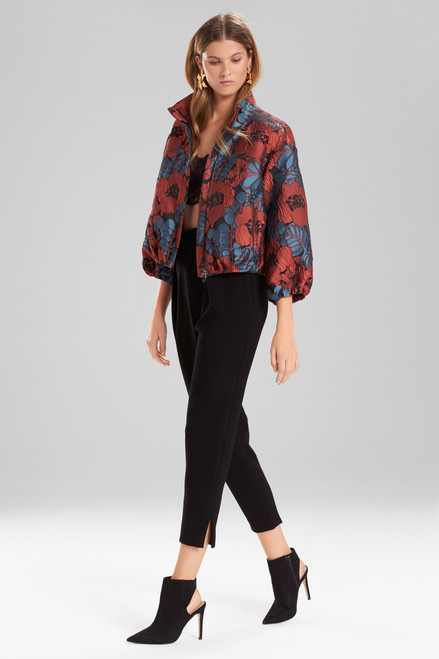 Buy Josie Natori Novelty Jacquard Elastic Bomber Jacket from
