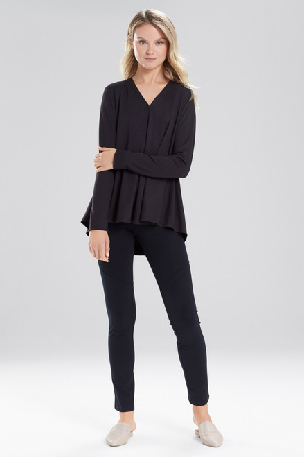 Buy Natori Zen French Terry V-Neck Top from