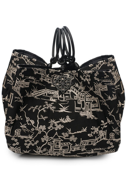 Buy Josie Natori Pagoda Embroidery Large Bag from