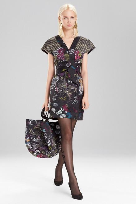 Buy Josie Natori Dragon Jacquard Dress from