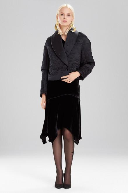 Buy Josie Natori Duchess Satin Cropped Jacket from
