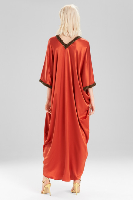 Josie Natori Couture Sunset Caftan at The Natori Company