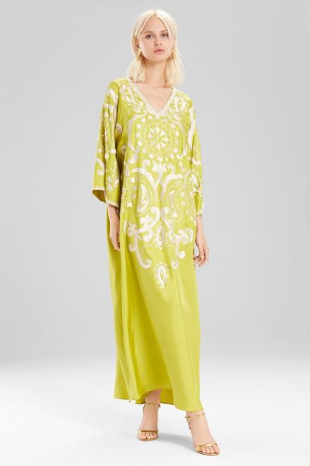Buy Josie Natori Couture Graphic Suzani Caftan from
