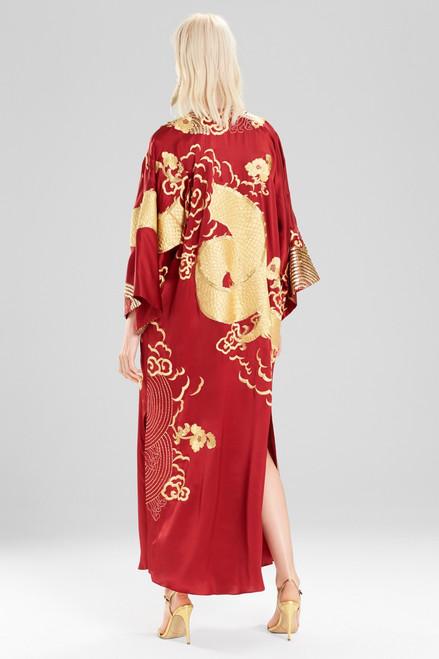 Josie Natori Couture Dragon Caftan at The Natori Company