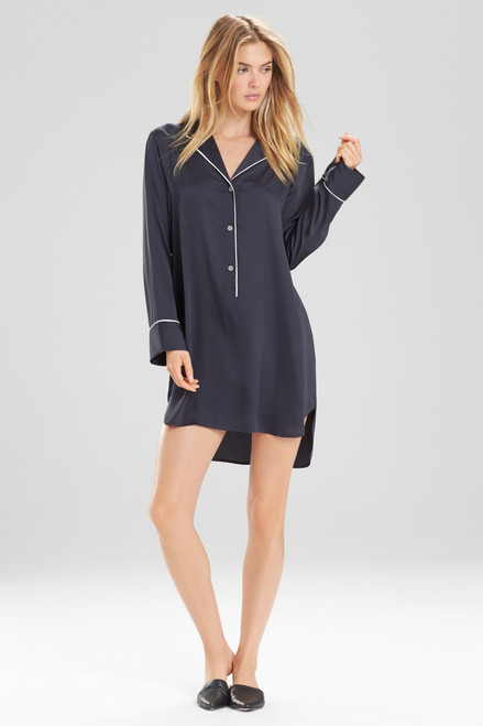 Buy Natori Feathers Satin Sleepshirt from