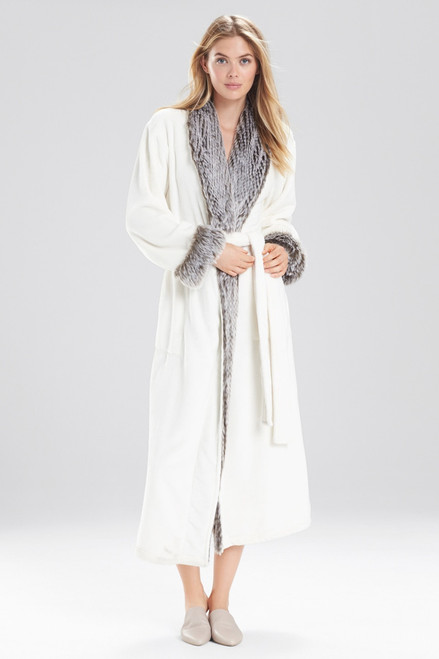 Buy Natori Frosted Faux Fur Robe from
