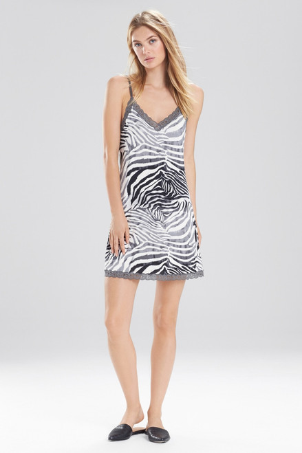 Buy Natori Feathers Essential Zebra Chemise from
