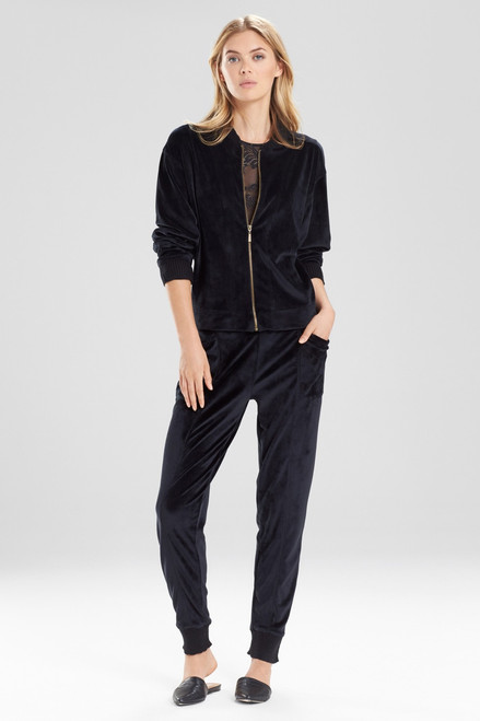 Buy Natori Luxe Velour Jacket from